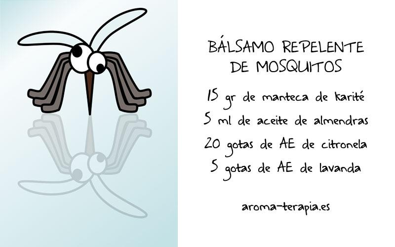 receta bálsamo repelente de mosquitos