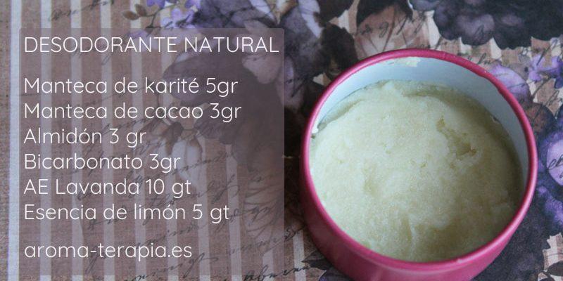 desodorante natural