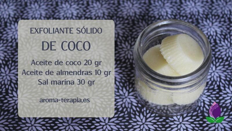 EXFOLIANTE SOLIDO DE COCO