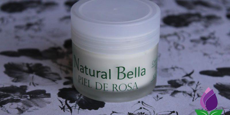 crema natural bella crema piel de rosa
